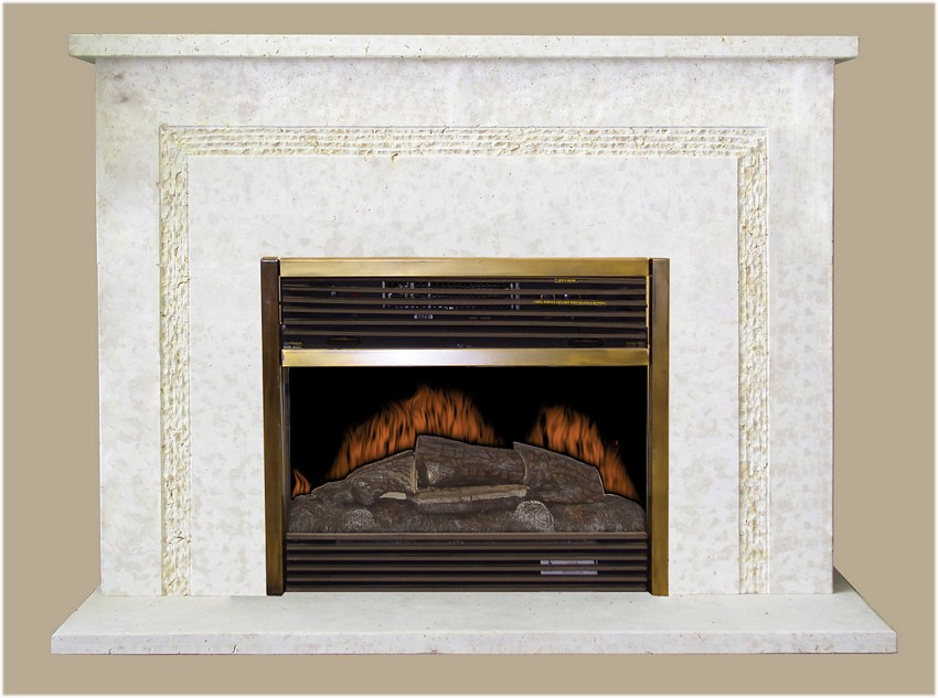 Electric Fireplaces | 186CLOSEOUT – Factory Closeout – Stone Bases ...