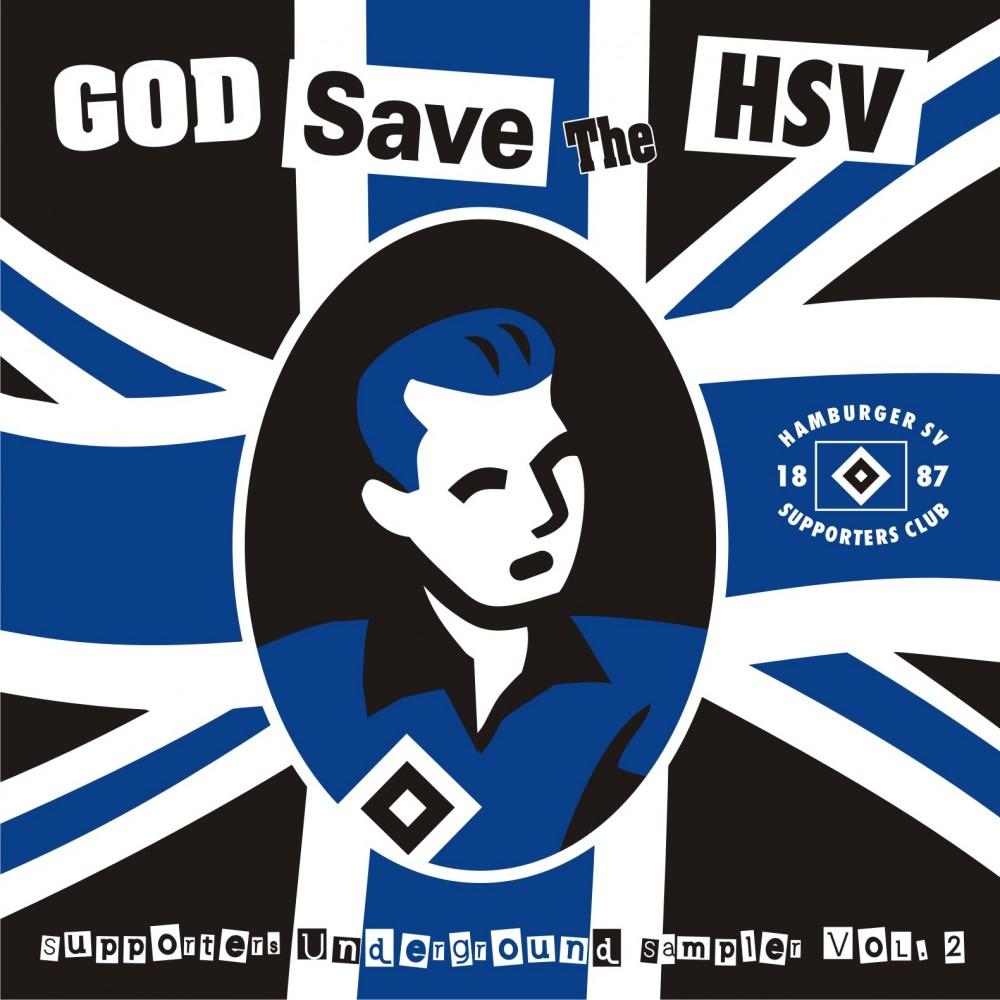 v a god save the hsv cd digipak
