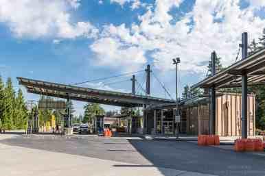 US Border Crossing, Point Roberts, WA