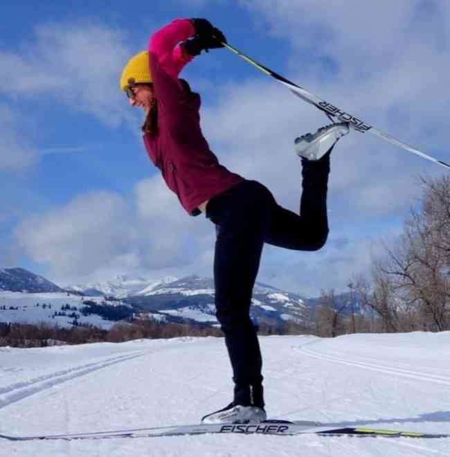 9, Whether you make it to the North Cascades in during wildflower bloom or an overcast snowy afternoon, Methow Valley and its miles of perfect running and nordic ski trails. Not everyone is a yogi in skis, but we can all aspire. Post by @motiveyogaco
