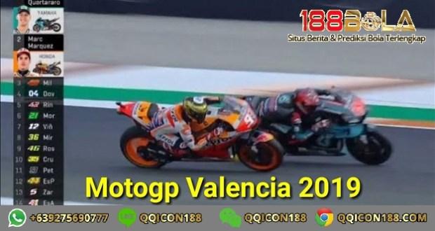 Hasil Balap MotoGP Valencia 2019