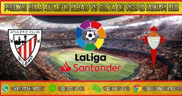 Prediksi Bola Athletic Bilbao vs Celta de Vigo 20 Januari 2020
