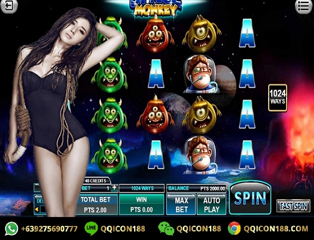Tips Menang Bermain Slot Game Space Monkey Spadegaming