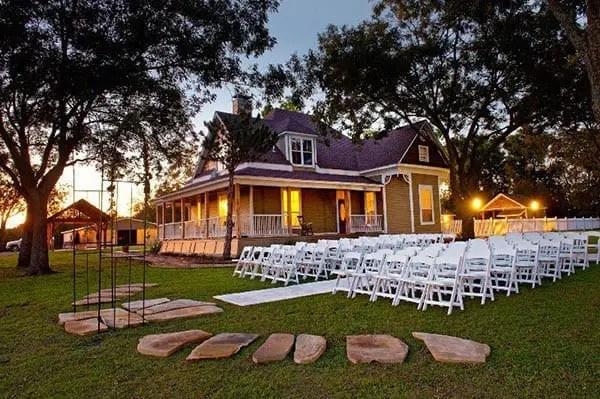 Farmhouse Outdoor Wedding Venue