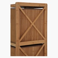 Bamboo Bathroom Cabinet with 2 Drawers | Cabinets ...