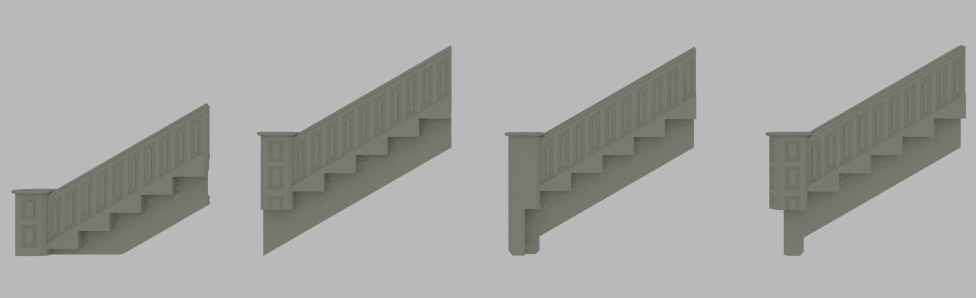 long stair back