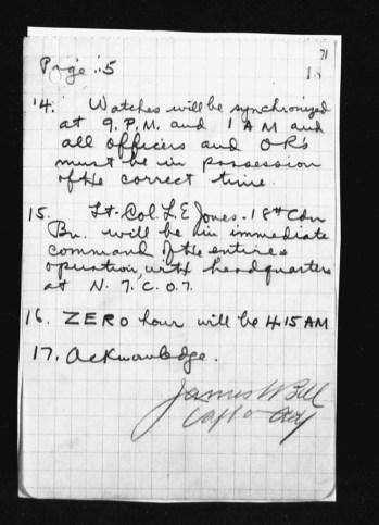 War Diary August 1917 (22)