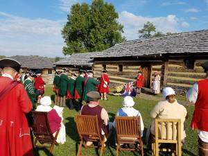 divine-service-at-fort-ligonier-this-morning