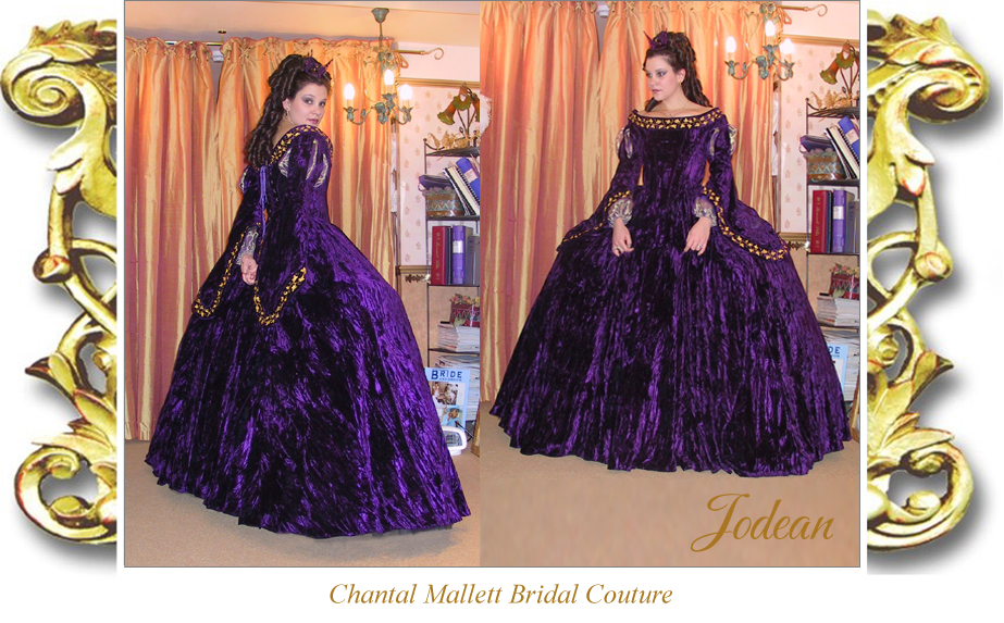 Chantal Mallett Bridal Couture: Bespoke Ballgown