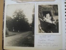 Sutton House Monkey puzzle tree Aunt Annie standing Mother Sybil