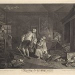 Image of the Week: Hogarth's Marriage à-la-mode (1745)