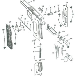 Sig Sauer 1911 Parts Diagram 2005 Nissan Pathfinder Bose Radio Wiring Pistol  Exploded View Grips Holsters