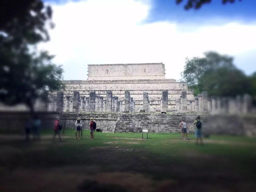 大祭祀台,奇琴伊察 Chichén Itzá