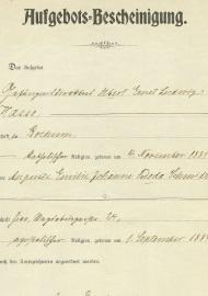 Zivile Dokumente der Epoche als Zeitzeugen