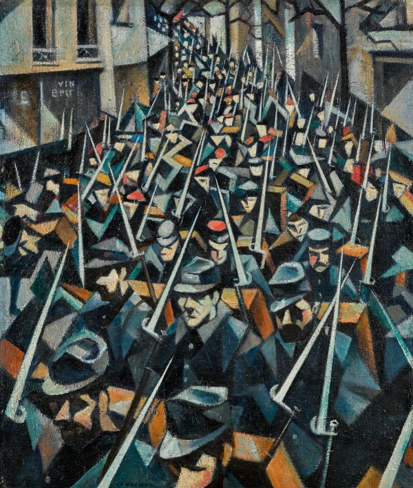 Epic Nevinson Painting Leads Sotheby World