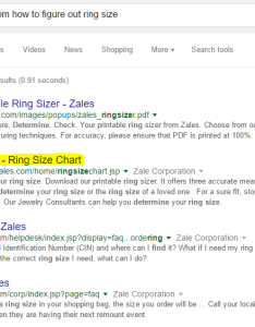 So far good they have  page dedicated to helping their visitors properly size rings let   click through zales ring sizing landing also how kay jewelers and tiffany co overthought rh