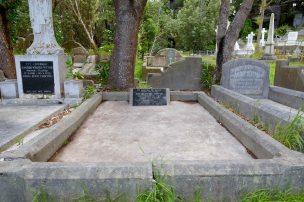 Charlotte Hoyle's grave