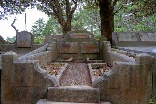 Helena Woodward's grave