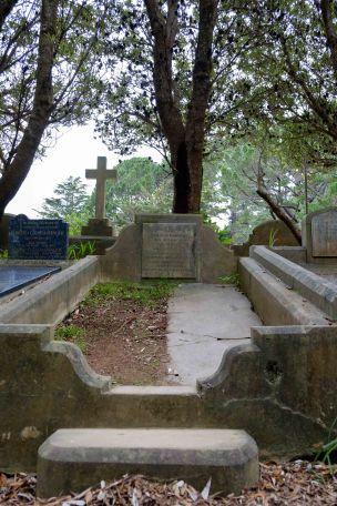 Charles Chapman's grave
