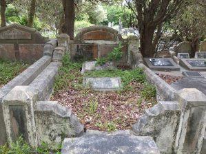 William Whiteacre's grave - before photo