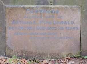 Gertrude Fitzgerald's plaque