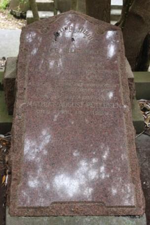 Alice Petersen's grave