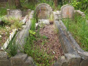 John Waistell's grave - before photo