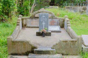 William Williams' grave
