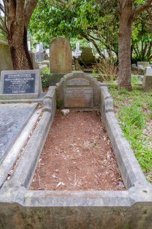 Claude Bobin's grave