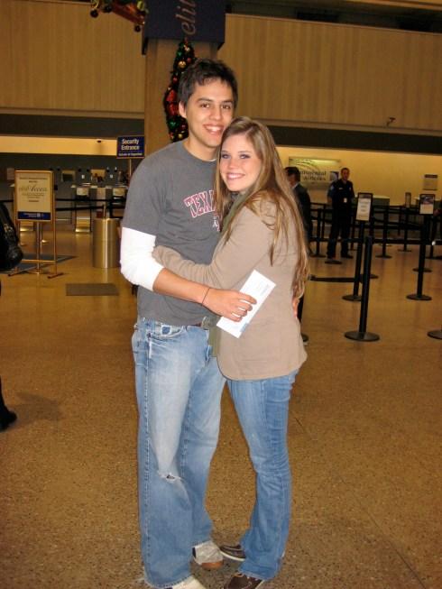 Airport Terminal 2008-Louis' 1st trip!