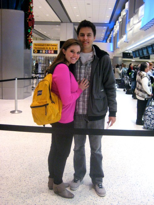 Airport Terminal 2010-I was running on ZERO hours of sleep after Louis surprised me with the trip!