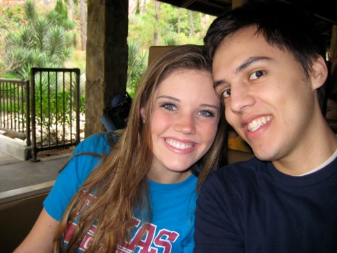 On Expedition Everest in 2008