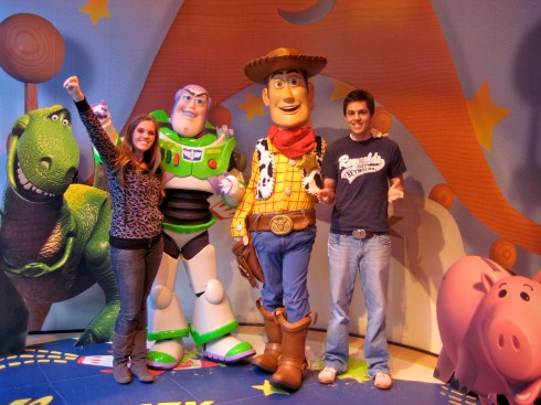Buzz & Woody in 2008