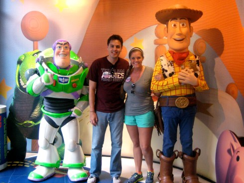 Buzz & Woody in 2012