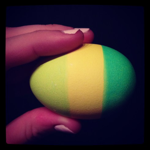This is part of my header, but I was so proud of my egg!