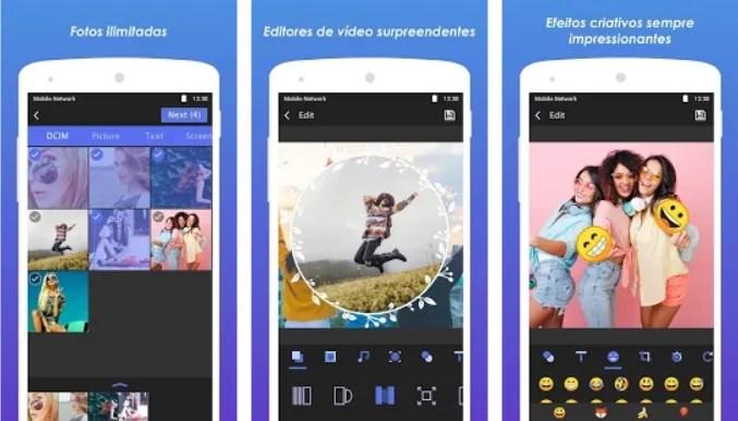 aplicativos para criar video com foto
