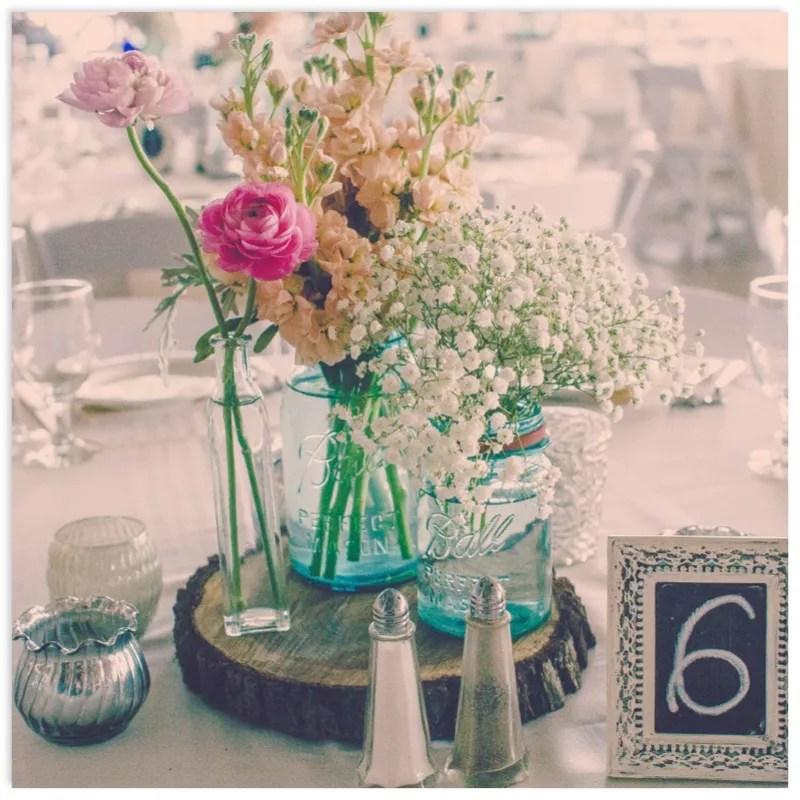 Do It Yourself Wedding Ideas On A Budget: DIY Hot Spot: DIY Mason Jar Wedding Centerpieces
