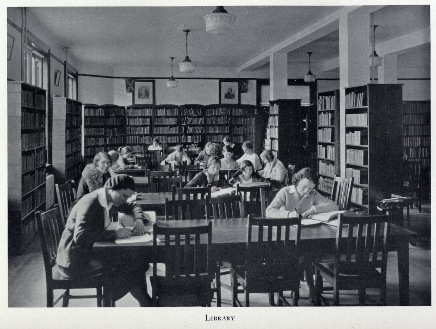 Academics « Mary Washington College In The 1930's