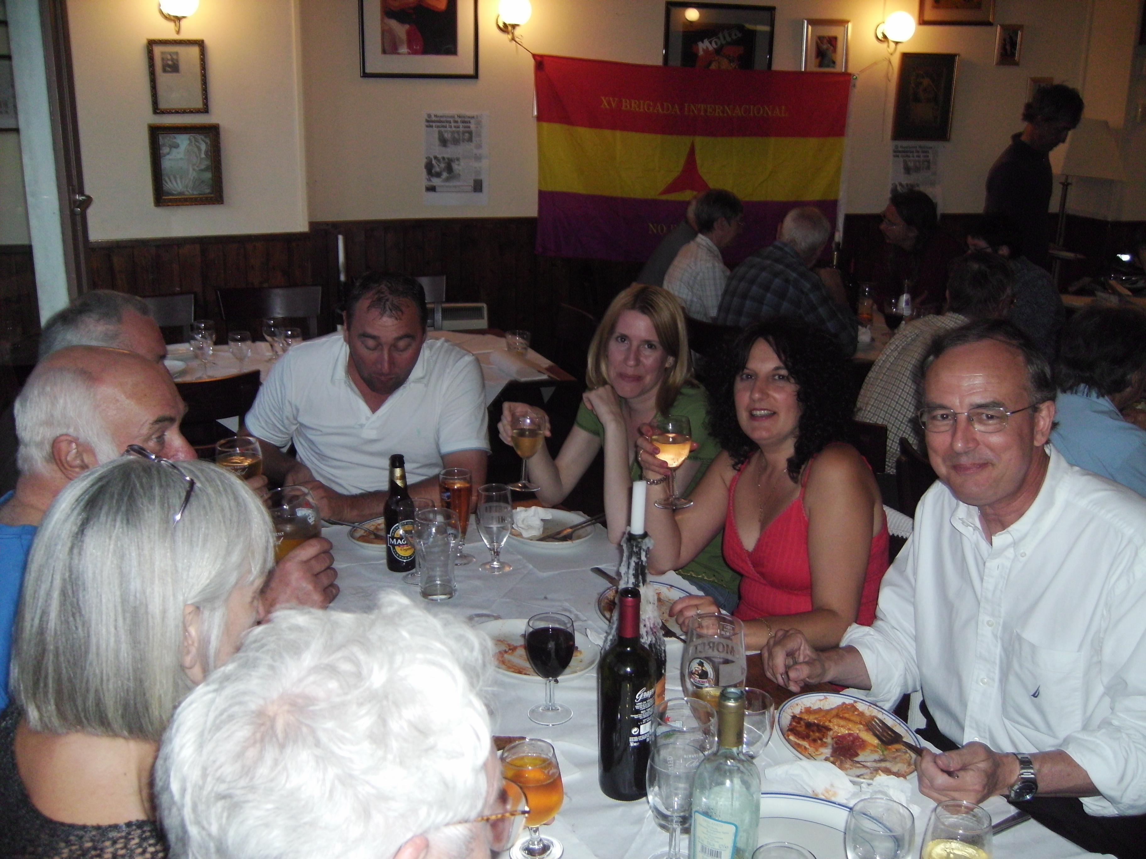 Meal at La Taverneta