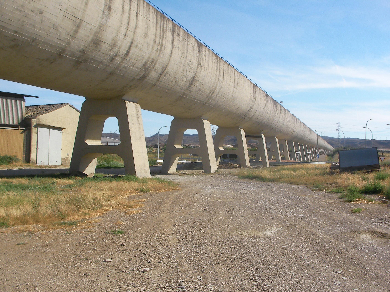 Aqueduct at Tardienta