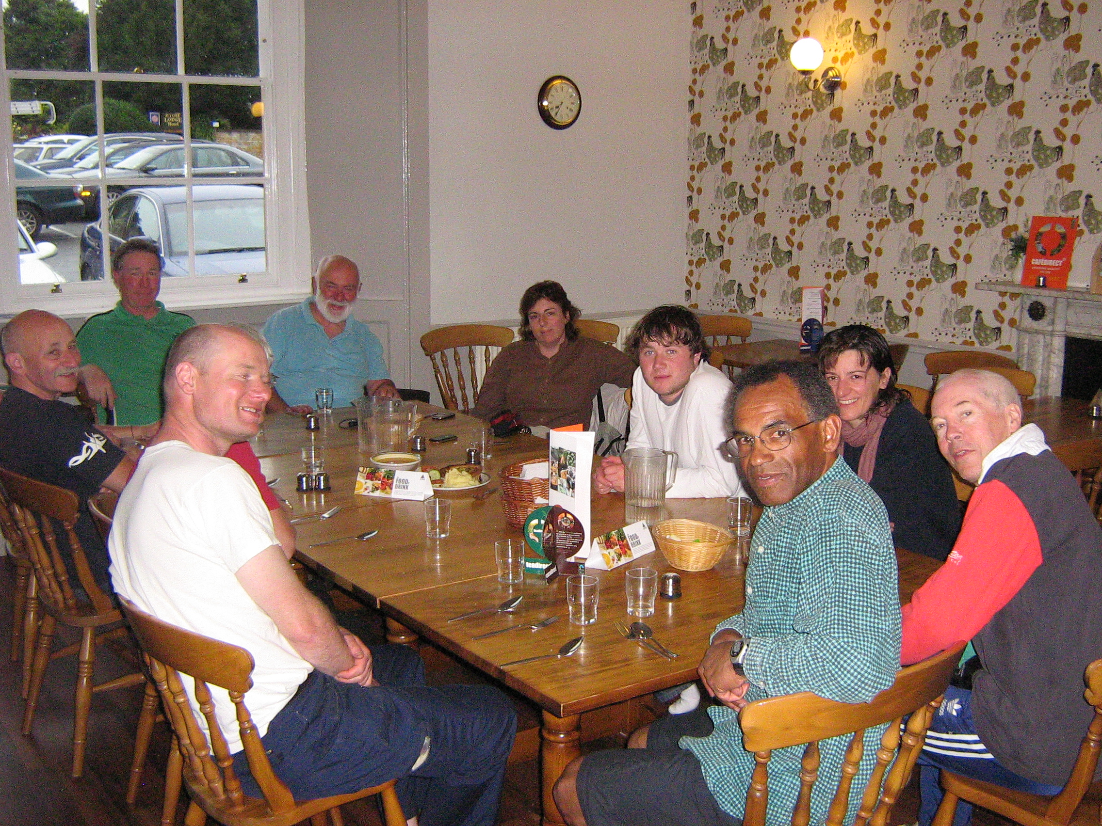 Supper at Stow YHA