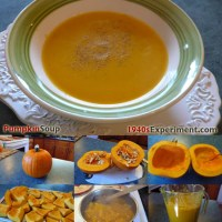 Wartime Pumpkin Soup