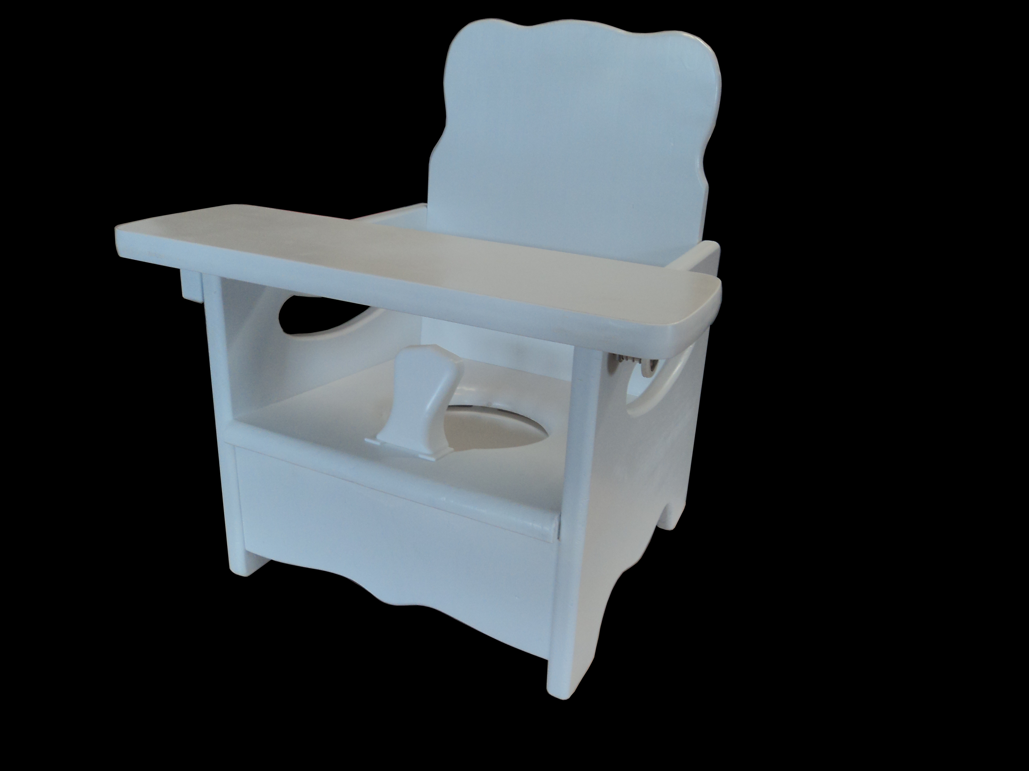 potty chairs for special needs grey leather dining 1950kids training with new 1950s style