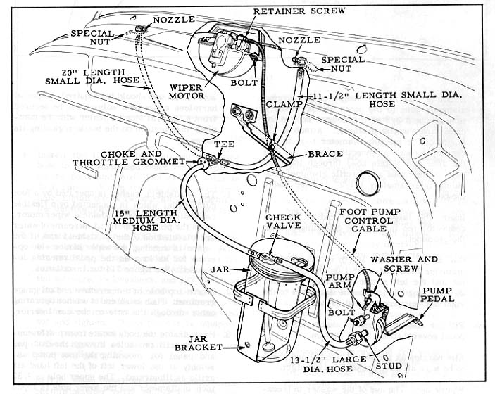 Ford Windshield Wiper Motor Wiring Diagram, Ford, Free