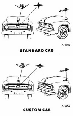 55 : 1955 : Ford Truck : F100