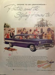 1957 Pontiac Star Chief ad.