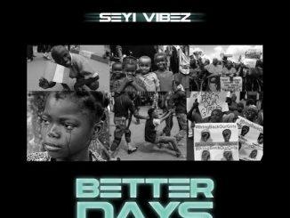 Seyi Vibez - Better Days (Freestyle)
