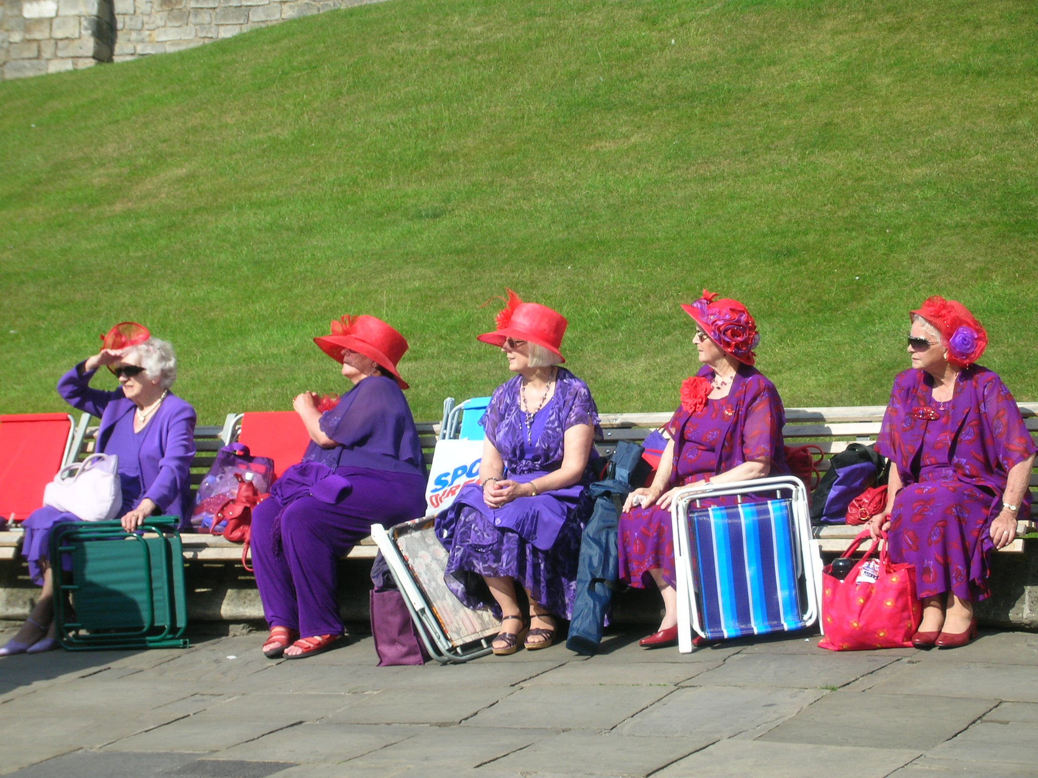 Red Hat Society Poem