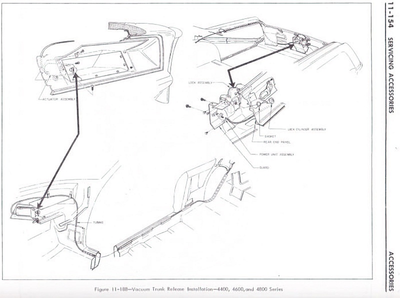 1964buick.com fixing a Buick Wildcat glovebox and adding