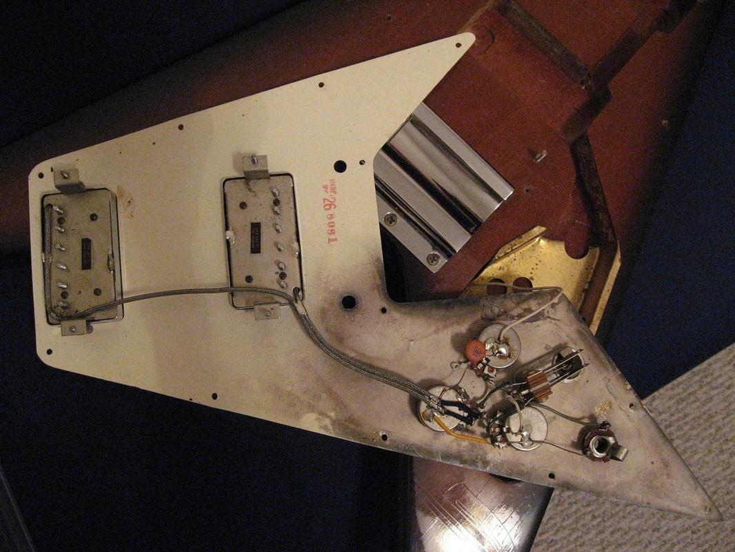 gibson single pickup wiring diagram xylem and phloem worksheet details parts the 1967 1971 flying v website